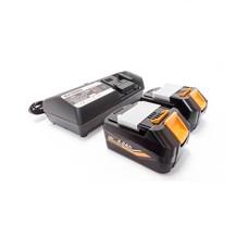 Keyang BATTPACK185 - Accupack 2x18V 5.0Ah accu + C14439 14.4-18V oplader