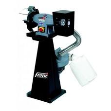 Femi 196 - Combi werkbank polijstmachine/slijpmachine industrial incl. afzuiging - 450W - 400V