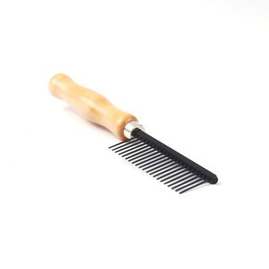 CleanPets (eigen merk) Cleanpets Kam anti-statisch houten handvat