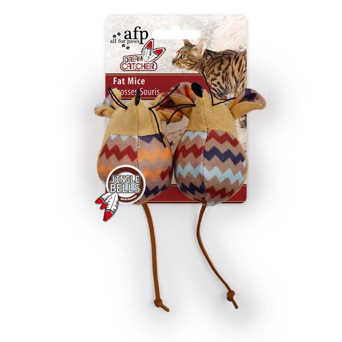 All for paws All for Paws (AFP) - Dream Catcher 2 pack Fat Mouse