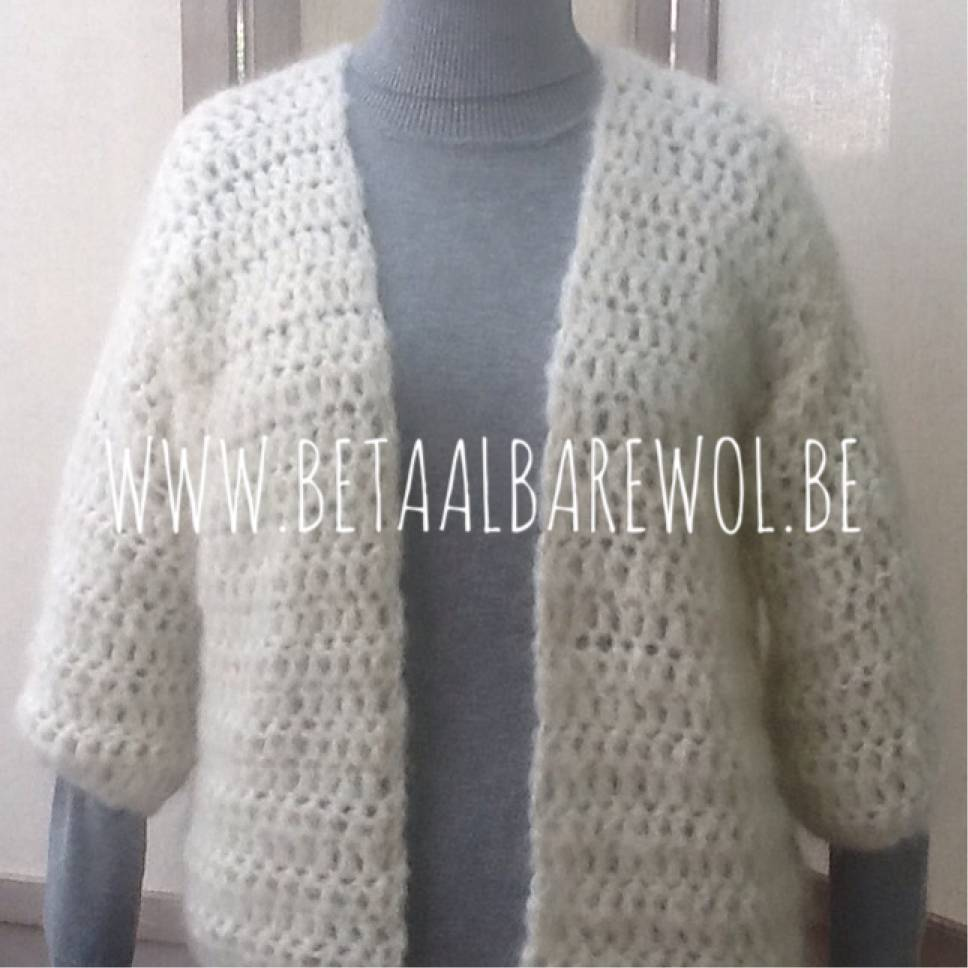 Explication gilet similaire Bernadette - Crochet-version