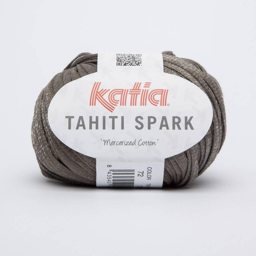 KATIA Tahiti spark - Bleekbruin/zilver (72)