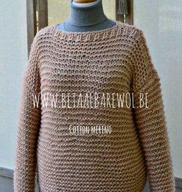 Patroon baggy trui
