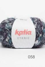 KATIA Ethnic (58) - Turqoise/grijs