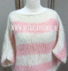Kant en klaar oversized trui T-model - Kid-Annell