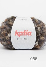 KATIA Ethnic (56) - Camel/Beige/Mosgroen