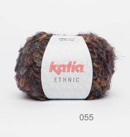 KATIA Ethnic (55) - Camel/grijs