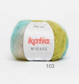 KATIA Mirage (103) - Groen-Nachtblauw-Turquoise