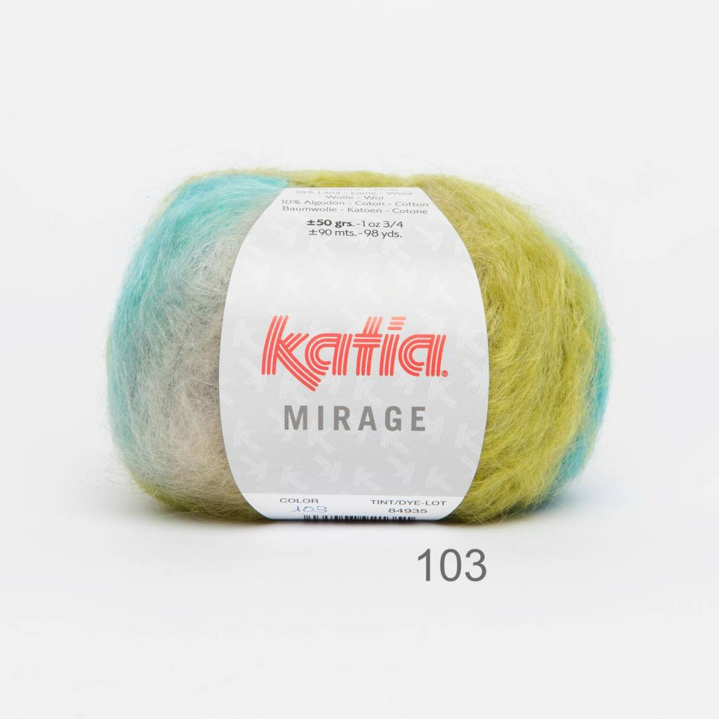 KATIA Mirage (103) - Vert-Bleu nocturne-Turquoise