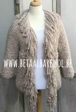 Prêt à porter veste à franges - Puno