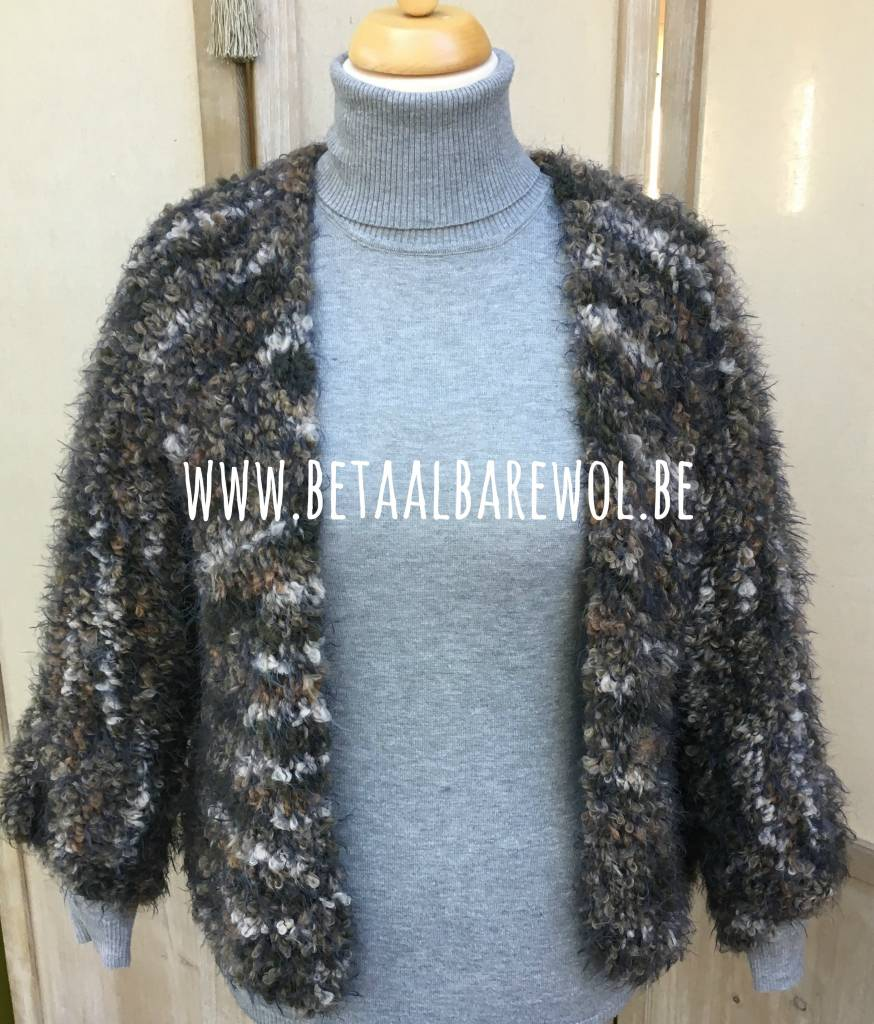 Patroon oversized vest t-model