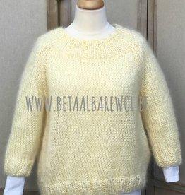 Patroon raglan trui