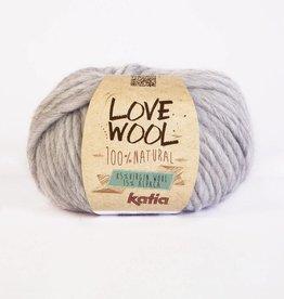KATIA Love wool - Licht grijs (105)