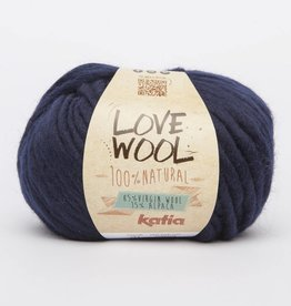 KATIA Love wool - Marine (121)