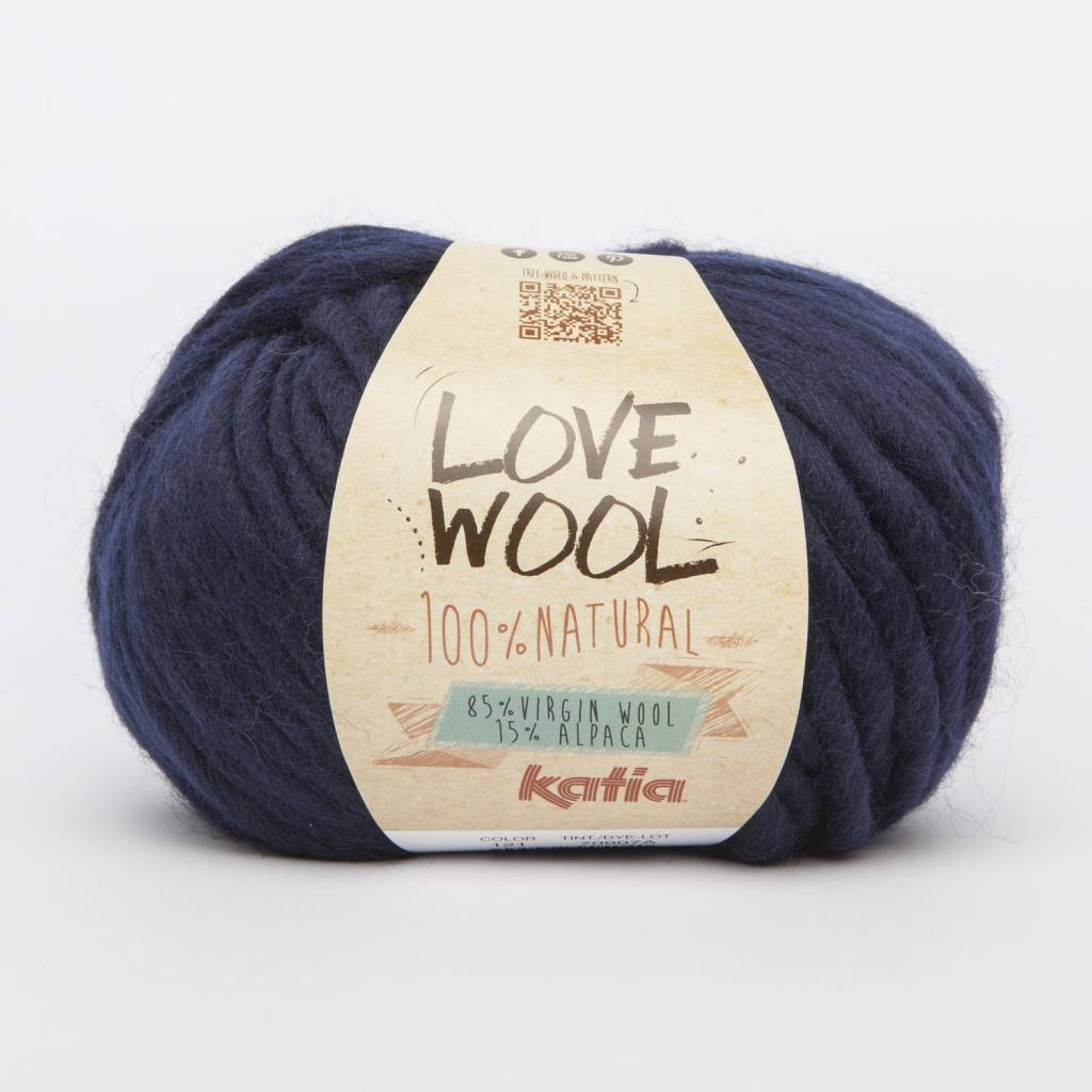 KATIA Love wool - Zwart (108)