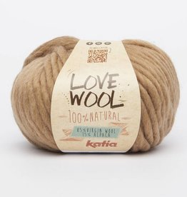 KATIA Love wool - Camel (120)