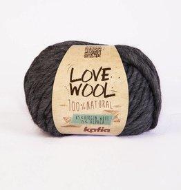 KATIA Love wool - Gris foncé (107)