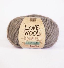 KATIA Love wool - Grijs-bruin (102)