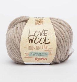 KATIA Love wool - Licht bruin (119)