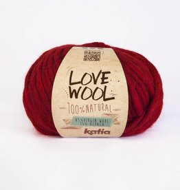 KATIA Love wool - Rouge (115)