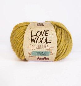 KATIA Love wool - Mosterd geel (112)