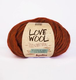 KATIA Love wool - Marron (114)