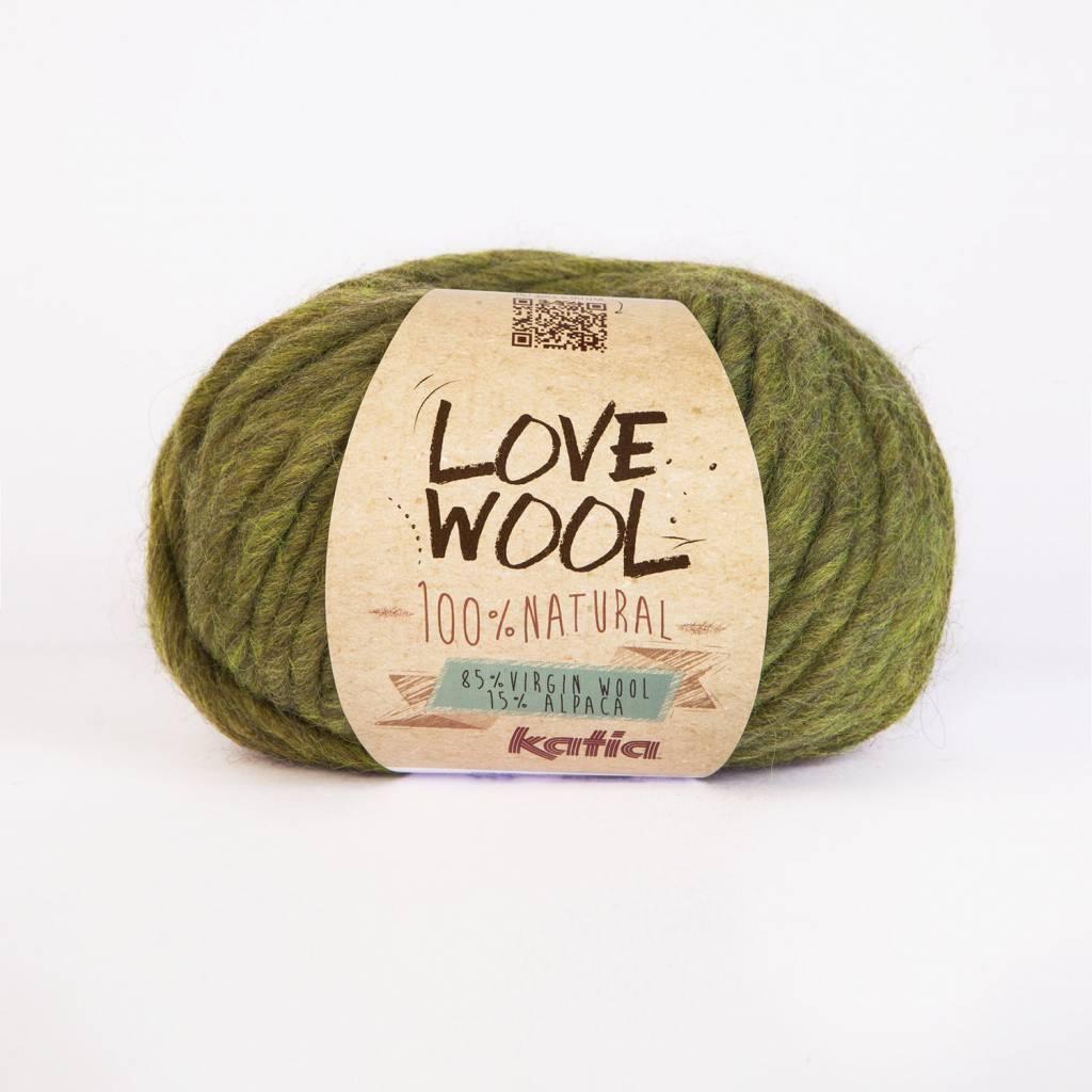 KATIA Love wool - Pistache (113)