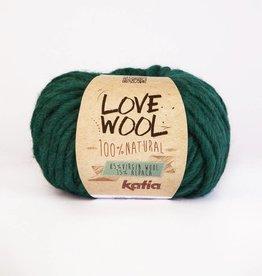 KATIA Love wool - Smaragd groen (117)