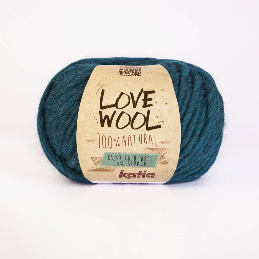 KATIA Love wool - Turquoise (118)