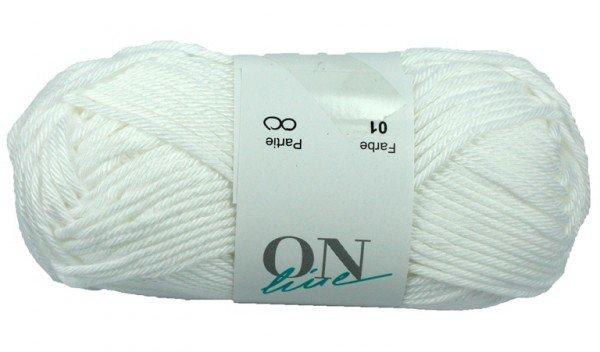 ONline wolle Sandy Big - Blanc (01)