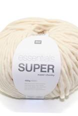 RICO design ESSENTIALS SUPER SUPER CHUNKY - Creme (001)