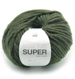 RICO design ESSENTIALS SUPER SUPER CHUNKY - Kaki (009)