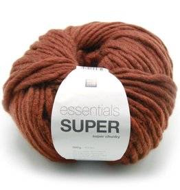 RICO design ESSENTIALS SUPER SUPER CHUNKY - Marron (012)