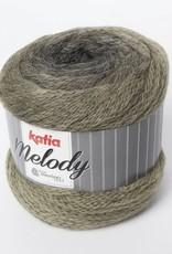 KATIA Melody - Zwart/bleekgroen (205)