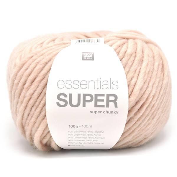 RICO design ESSENTIALS SUPER SUPER CHUNKY - Nude  (018)