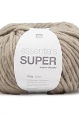 RICO design ESSENTIALS SUPER SUPER CHUNKY - Pebble  (026)