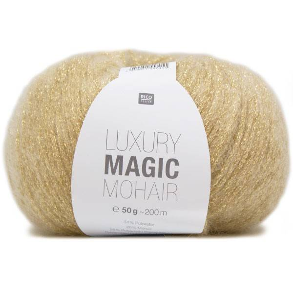 RICO design MAGIC Mohair - Or