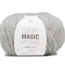 RICO design MAGIC MOHAIR - Zilver