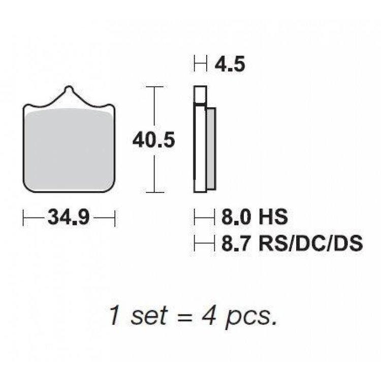 SBS Dual Carbon - 870DC