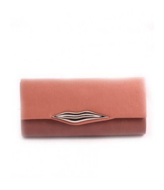 Light Pink Lips Clutch