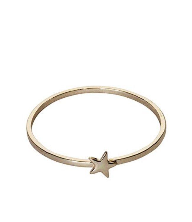 Star Bangle - Rose Gold