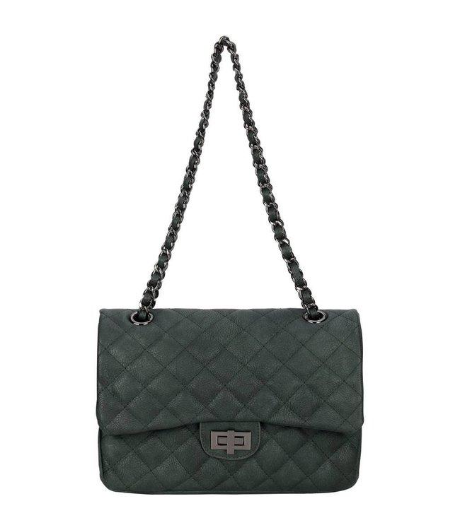 Diana&Co Groene tas van eco-leather.