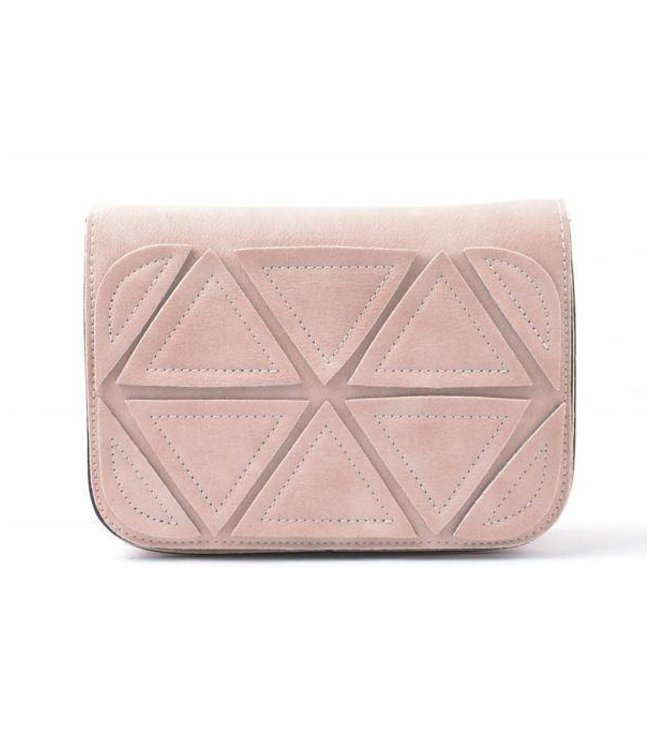Patched Bag Pastel Pink