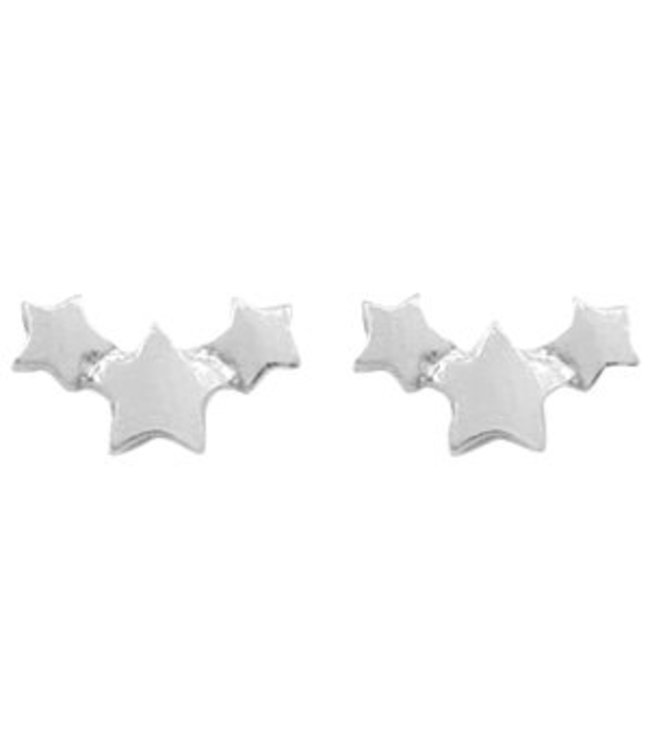 Starlight Studs Silver