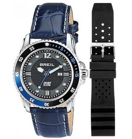 Breil BREIL Mod. OCEANO Quartz Gent Data SS Case Silicone Strap + Leather strap 47mm WR 10ATM