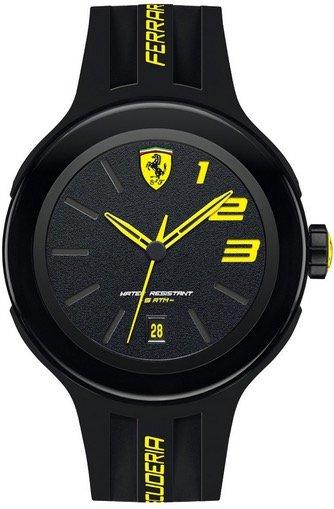 Scuderia Ferrari SCUDERIA FERRARI Mod. FXX GENT SILICONE STRAP 46mm 5atm