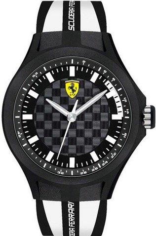 Scuderia Ferrari SCUDERIA FERRARI Mod. PIT CREW GENT SILICONE STRAP 46mm 5atm
