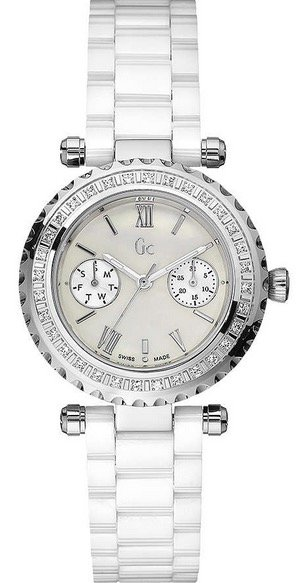 Guess GUESS COLLECTION Mod. DIVER 36 Diamonds MOP Dial SWISS MADE