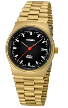 Breil BREIL Mod. MANTA Quartz Gent Data Ss Case & Bracelet IP Gold 37mm WR 10ATM