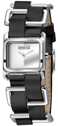 Breil BREIL  Mod. STORYLINE Quartz Lady SS Case Leather & SS Strap 26X22mm WR 5ATM